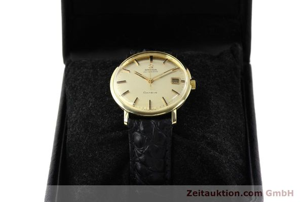 Used luxury watch Omega * 14 ct yellow gold automatic Kal. 565 Ref. 1627037  | 140413 07