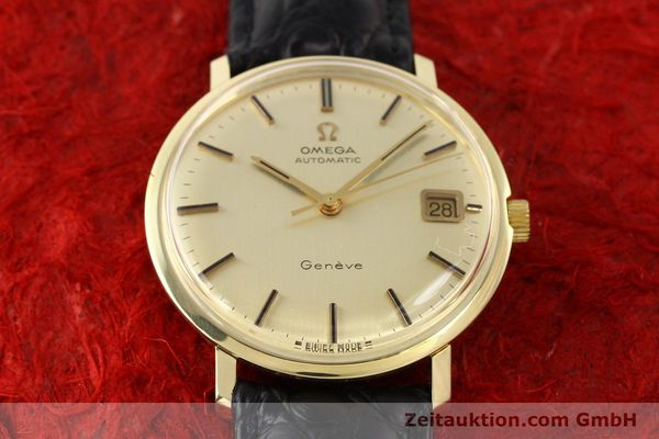 Used luxury watch Omega * 14 ct yellow gold automatic Kal. 565 Ref. 1627037  | 140413 13