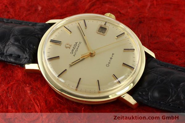 Used luxury watch Omega * 14 ct yellow gold automatic Kal. 565 Ref. 1627037  | 140413 14