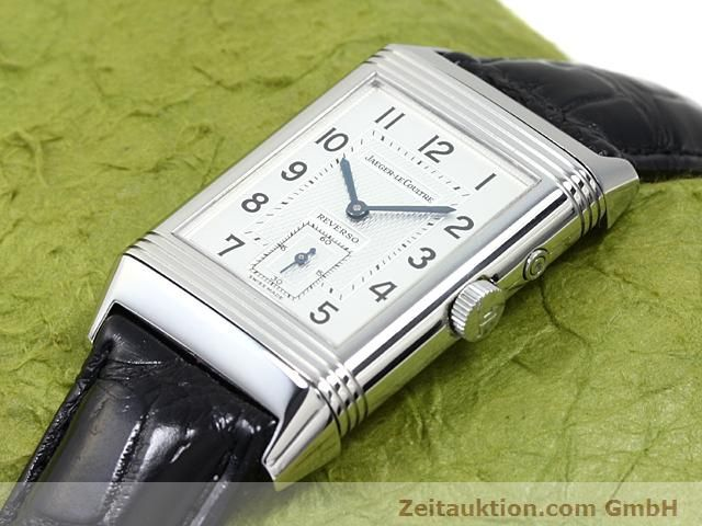 Used luxury watch Jaeger Le Coultre Reverso steel manual winding Ref. 270.8.54  | 140416 01