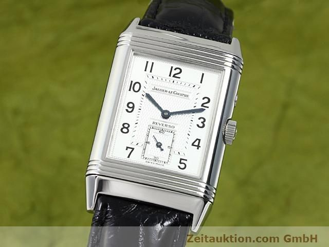 Used luxury watch Jaeger Le Coultre Reverso steel manual winding Ref. 270.8.54  | 140416 04
