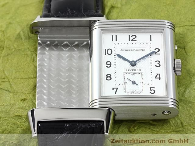 Used luxury watch Jaeger Le Coultre Reverso steel manual winding Ref. 270.8.54  | 140416 12