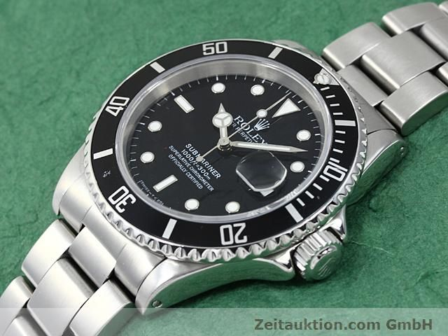 Used luxury watch Rolex Submariner steel automatic Kal. 3135 Ref. 16610  | 140418 01