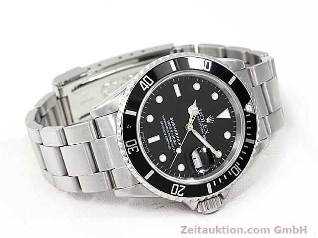 Used luxury watch Rolex Submariner steel automatic Kal. 3135 Ref. 16610  | 140418 03