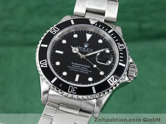Used luxury watch Rolex Submariner steel automatic Kal. 3135 Ref. 16610  | 140418 04