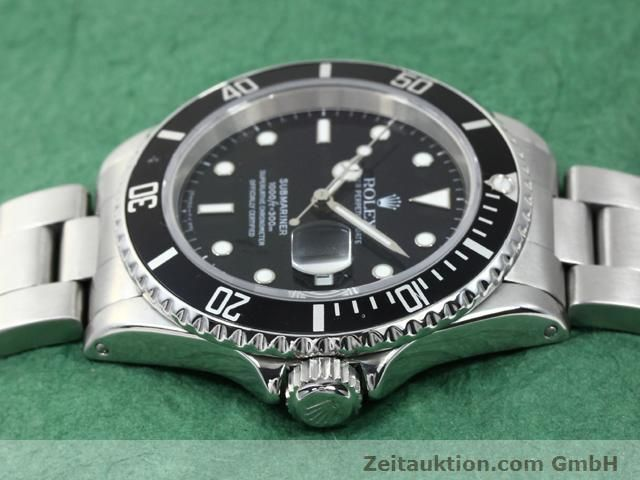 Used luxury watch Rolex Submariner steel automatic Kal. 3135 Ref. 16610  | 140418 05