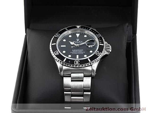 Used luxury watch Rolex Submariner steel automatic Kal. 3135 Ref. 16610  | 140418 07