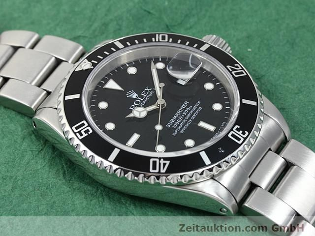 Used luxury watch Rolex Submariner steel automatic Kal. 3135 Ref. 16610  | 140418 13