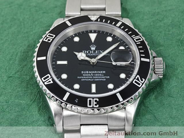 Used luxury watch Rolex Submariner steel automatic Kal. 3135 Ref. 16610  | 140418 14