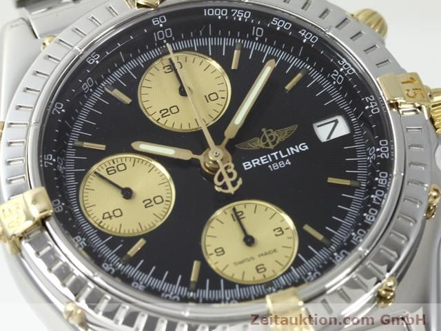 Used luxury watch Breitling Chronomat gilt steel automatic Kal. ETA 7750 Ref. B13050  | 140423 02