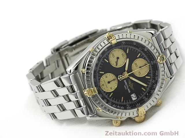 Used luxury watch Breitling Chronomat gilt steel automatic Kal. ETA 7750 Ref. B13050  | 140423 03