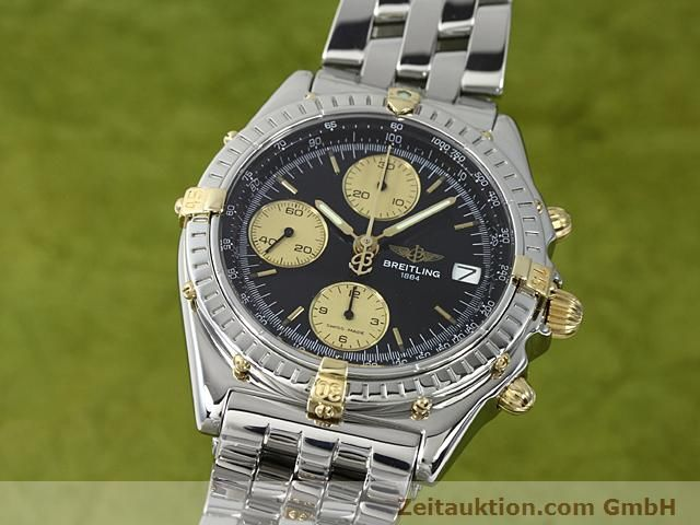 Used luxury watch Breitling Chronomat gilt steel automatic Kal. ETA 7750 Ref. B13050  | 140423 04