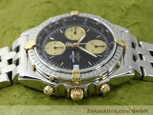 Used luxury watch Breitling Chronomat gilt steel automatic Kal. ETA 7750 Ref. B13050  | 140423 05