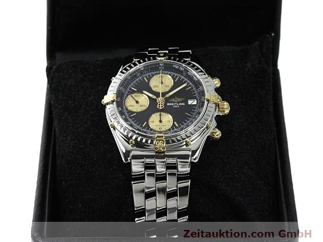 Used luxury watch Breitling Chronomat gilt steel automatic Kal. ETA 7750 Ref. B13050  | 140423 07
