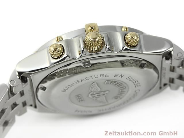 Used luxury watch Breitling Chronomat gilt steel automatic Kal. ETA 7750 Ref. B13050  | 140423 08