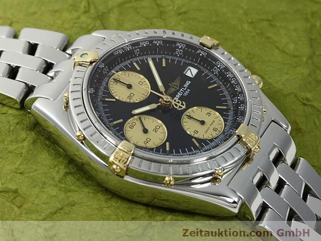 Used luxury watch Breitling Chronomat gilt steel automatic Kal. ETA 7750 Ref. B13050  | 140423 12