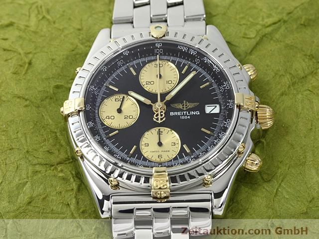 Used luxury watch Breitling Chronomat gilt steel automatic Kal. ETA 7750 Ref. B13050  | 140423 13