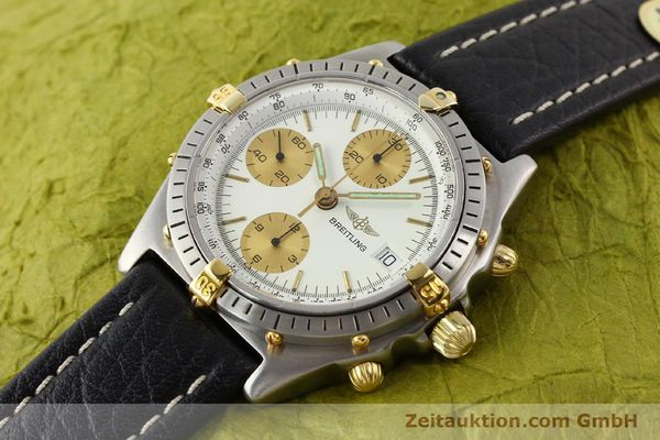 Used luxury watch Breitling Chronomat gilt steel automatic Ref. 81950B13047  | 140427 01
