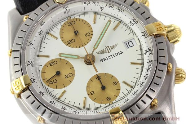 Used luxury watch Breitling Chronomat gilt steel automatic Ref. 81950B13047  | 140427 02