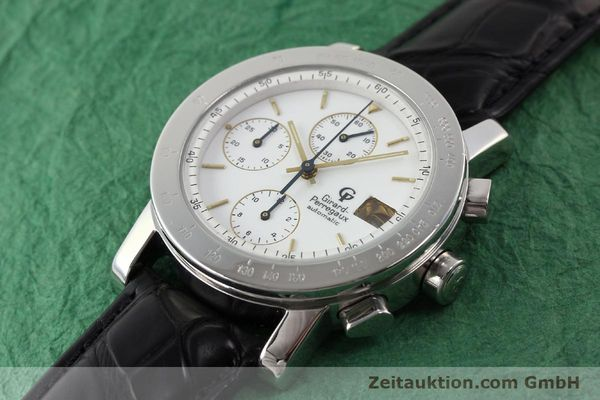 Used luxury watch Girard Perregaux 7000 steel automatic Ref. 7000  | 140429 01