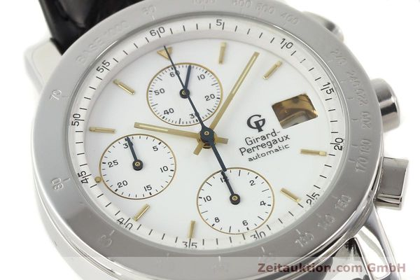 Used luxury watch Girard Perregaux 7000 steel automatic Ref. 7000  | 140429 02