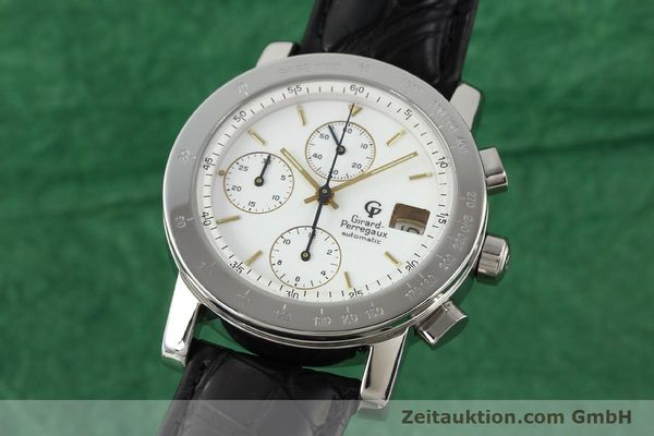 Used luxury watch Girard Perregaux 7000 steel automatic Ref. 7000  | 140429 04