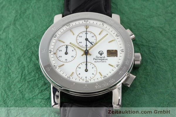 Used luxury watch Girard Perregaux 7000 steel automatic Ref. 7000  | 140429 14