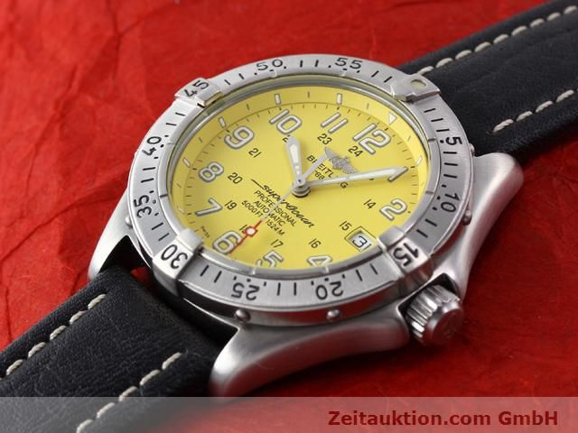 Used luxury watch Breitling Superocean steel automatic Kal. ETA 2824-2 Ref. A17045  | 140430 01