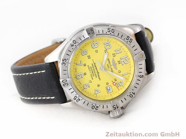 Used luxury watch Breitling Superocean steel automatic Kal. ETA 2824-2 Ref. A17045  | 140430 03