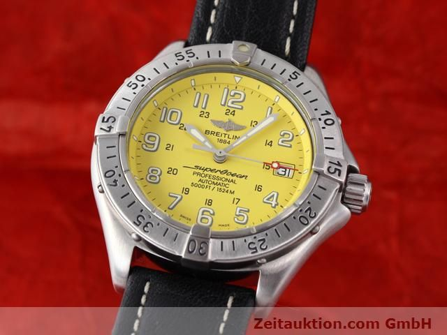 Used luxury watch Breitling Superocean steel automatic Kal. ETA 2824-2 Ref. A17045  | 140430 04