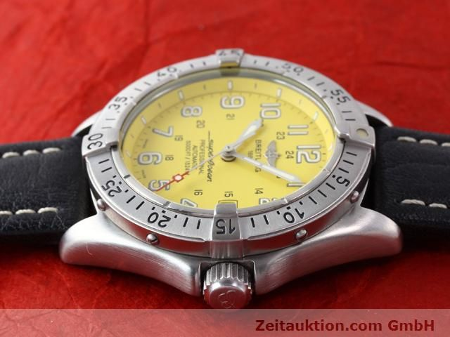 Used luxury watch Breitling Superocean steel automatic Kal. ETA 2824-2 Ref. A17045  | 140430 05