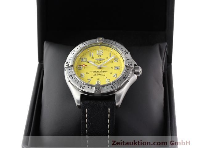 Used luxury watch Breitling Superocean steel automatic Kal. ETA 2824-2 Ref. A17045  | 140430 07