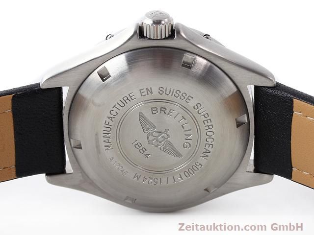 Used luxury watch Breitling Superocean steel automatic Kal. ETA 2824-2 Ref. A17045  | 140430 09