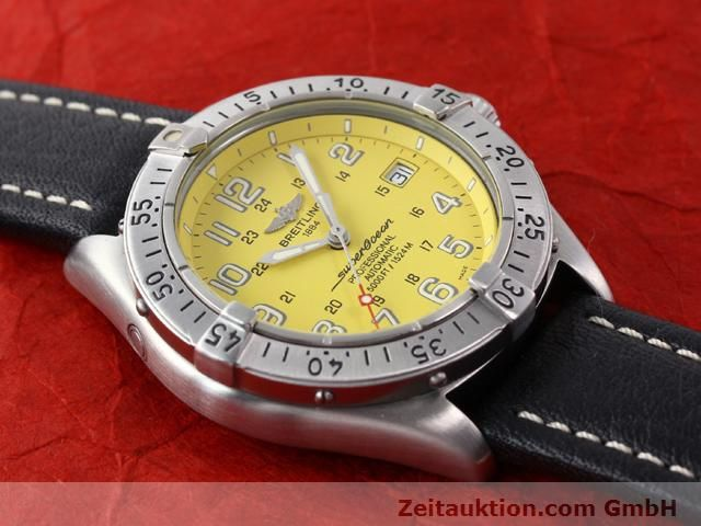 Used luxury watch Breitling Superocean steel automatic Kal. ETA 2824-2 Ref. A17045  | 140430 13
