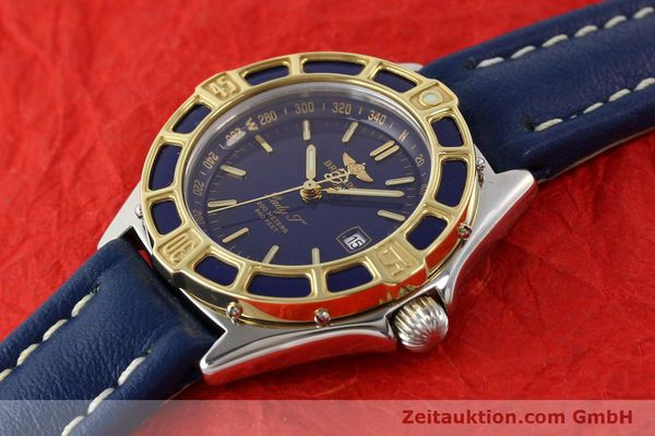 Used luxury watch Breitling Lady J steel / gold quartz Ref. D52065  | 140431 01