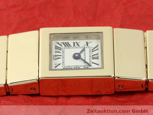 Used luxury watch Cartier * 18 ct gold quartz Kal. 201 VINTAGE  | 140432 05