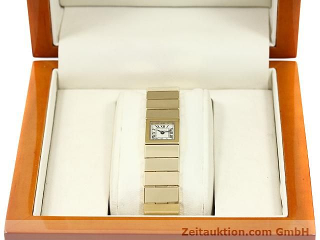 Used luxury watch Cartier * 18 ct gold quartz Kal. 201 VINTAGE  | 140432 07