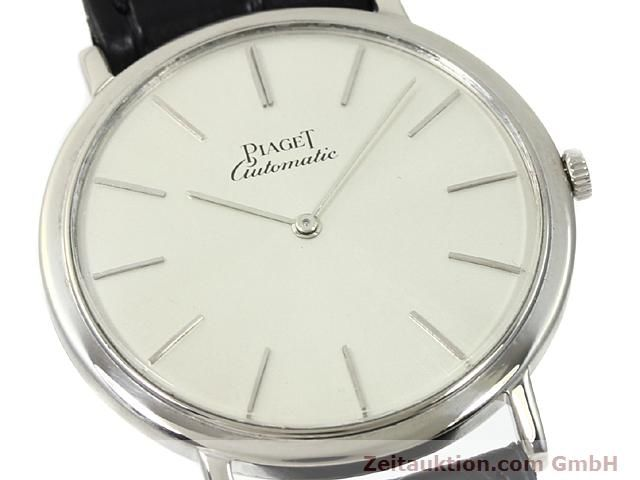 Used luxury watch Piaget * 18 ct white gold automatic Kal. 12PC1 Ref. 12603  | 140433 02