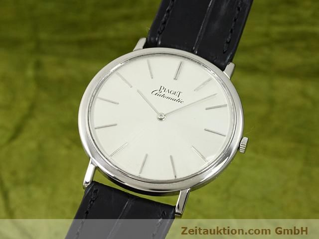 Used luxury watch Piaget * 18 ct white gold automatic Kal. 12PC1 Ref. 12603  | 140433 04
