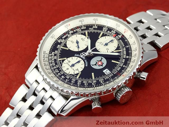 Used luxury watch Breitling Navitimer steel automatic Kal. ETA 7750 Ref. A13022  | 140434 01
