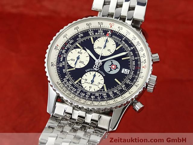 Used luxury watch Breitling Navitimer steel automatic Kal. ETA 7750 Ref. A13022  | 140434 04