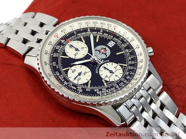 Used luxury watch Breitling Navitimer steel automatic Kal. ETA 7750 Ref. A13022  | 140434 13