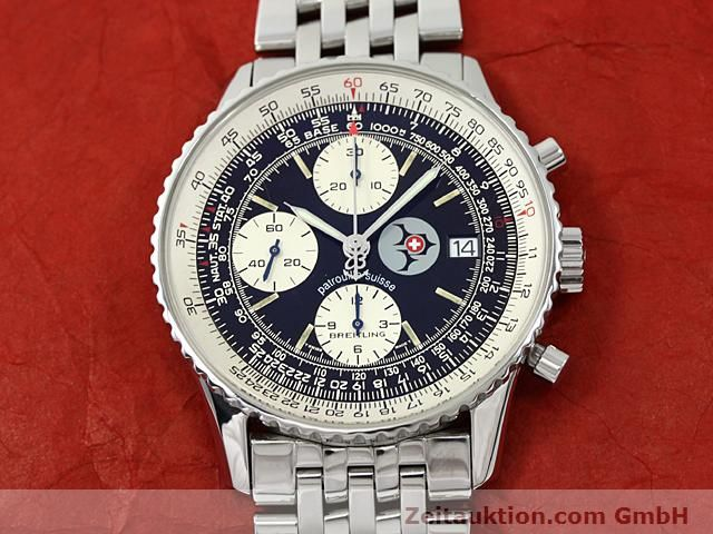 Used luxury watch Breitling Navitimer steel automatic Kal. ETA 7750 Ref. A13022  | 140434 14