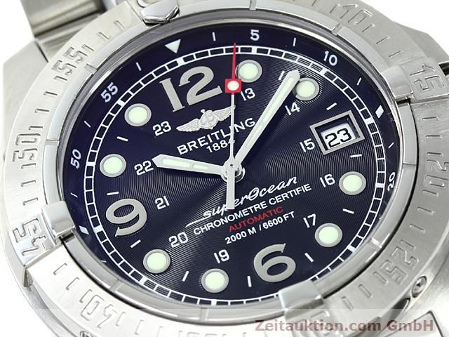 Used luxury watch Breitling Superocean steel automatic Kal. ETA 2824-2 Ref. A17390  | 140435 02