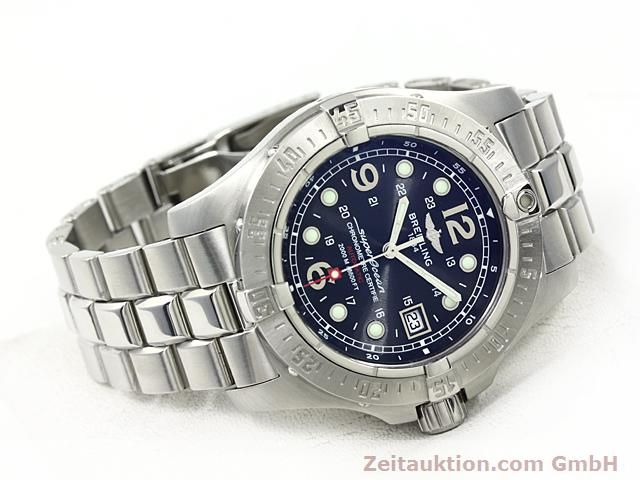 Used luxury watch Breitling Superocean steel automatic Kal. ETA 2824-2 Ref. A17390  | 140435 03