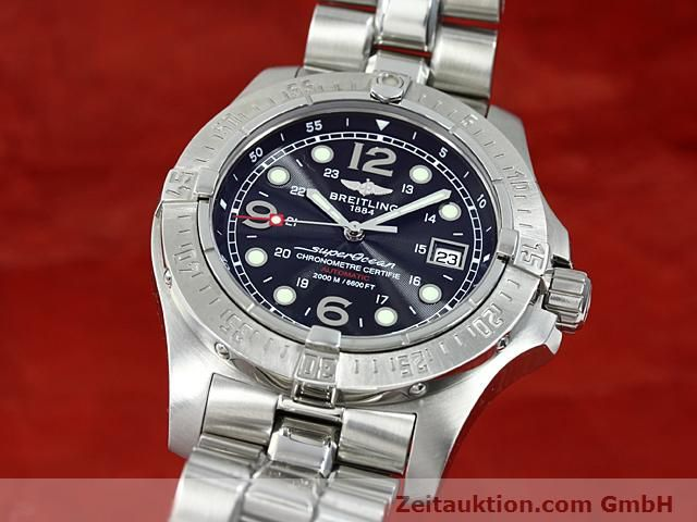 Used luxury watch Breitling Superocean steel automatic Kal. ETA 2824-2 Ref. A17390  | 140435 04