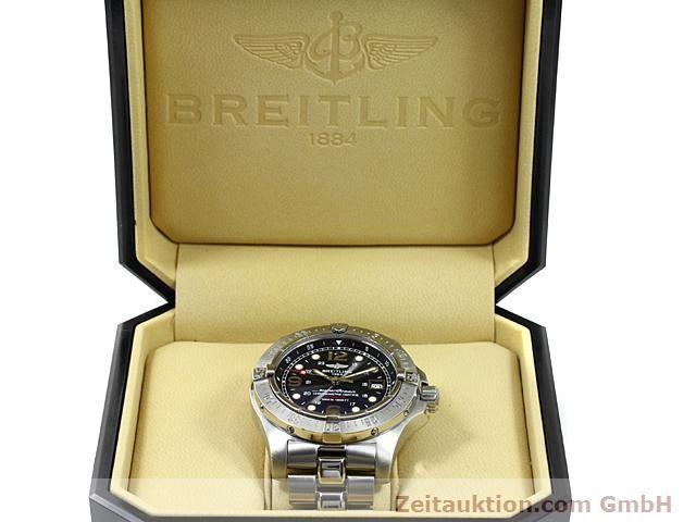 Used luxury watch Breitling Superocean steel automatic Kal. ETA 2824-2 Ref. A17390  | 140435 07