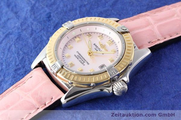 Used luxury watch Breitling Callistino steel / gold quartz Ref. D72345  | 140436 01