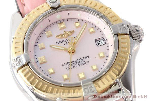 Used luxury watch Breitling Callistino steel / gold quartz Ref. D72345  | 140436 02