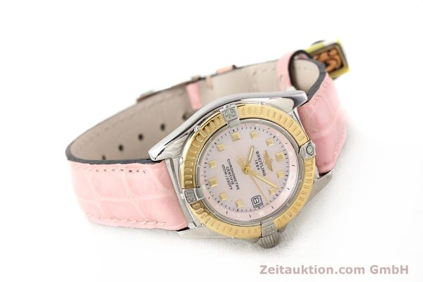 Used luxury watch Breitling Callistino steel / gold quartz Ref. D72345  | 140436 03